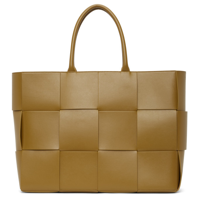 Photo: Bottega Veneta Tan Intrecciato Tote
