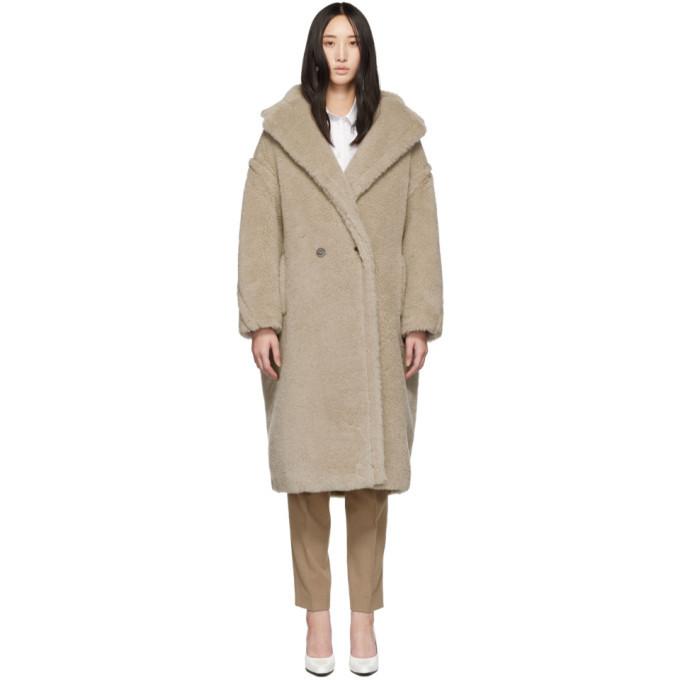 Max Mara Beige Teddy Coat