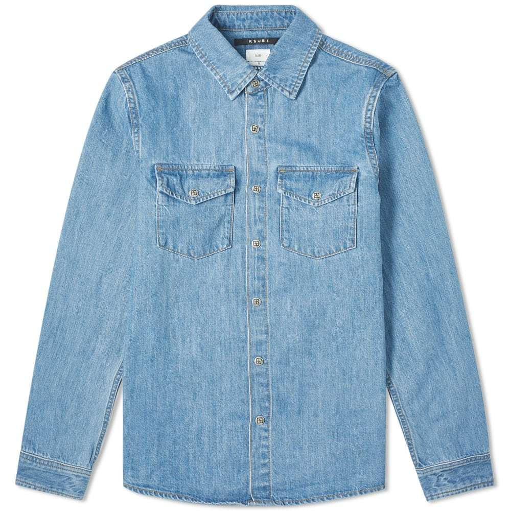 Photo: Ksubi De Nimes Young American Denim Shirt
