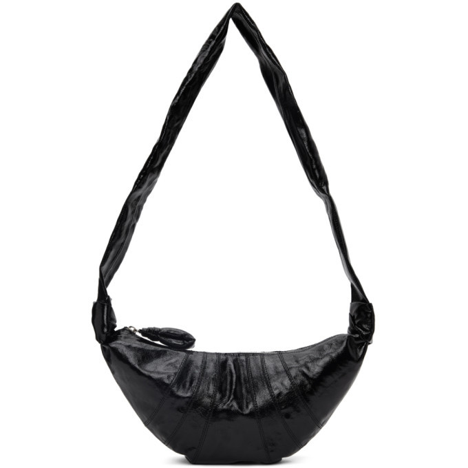 Photo: Lemaire Black Small Croissant Bag