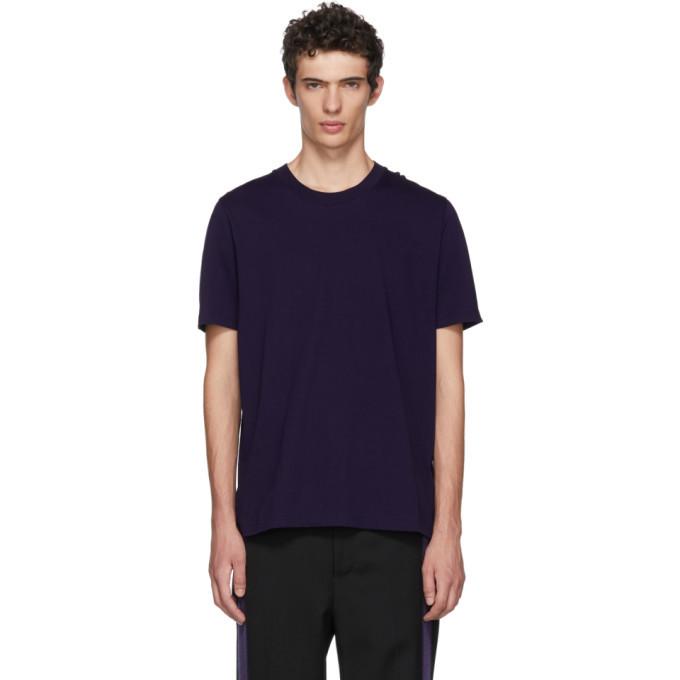 Photo: Jil Sander Purple Cotton T-Shirt