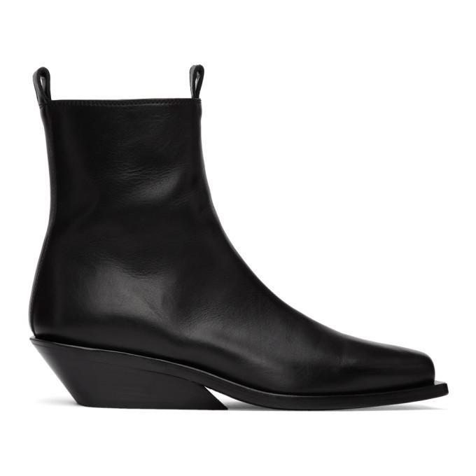 Photo: Ann Demeulemeester Black Crust Boots
