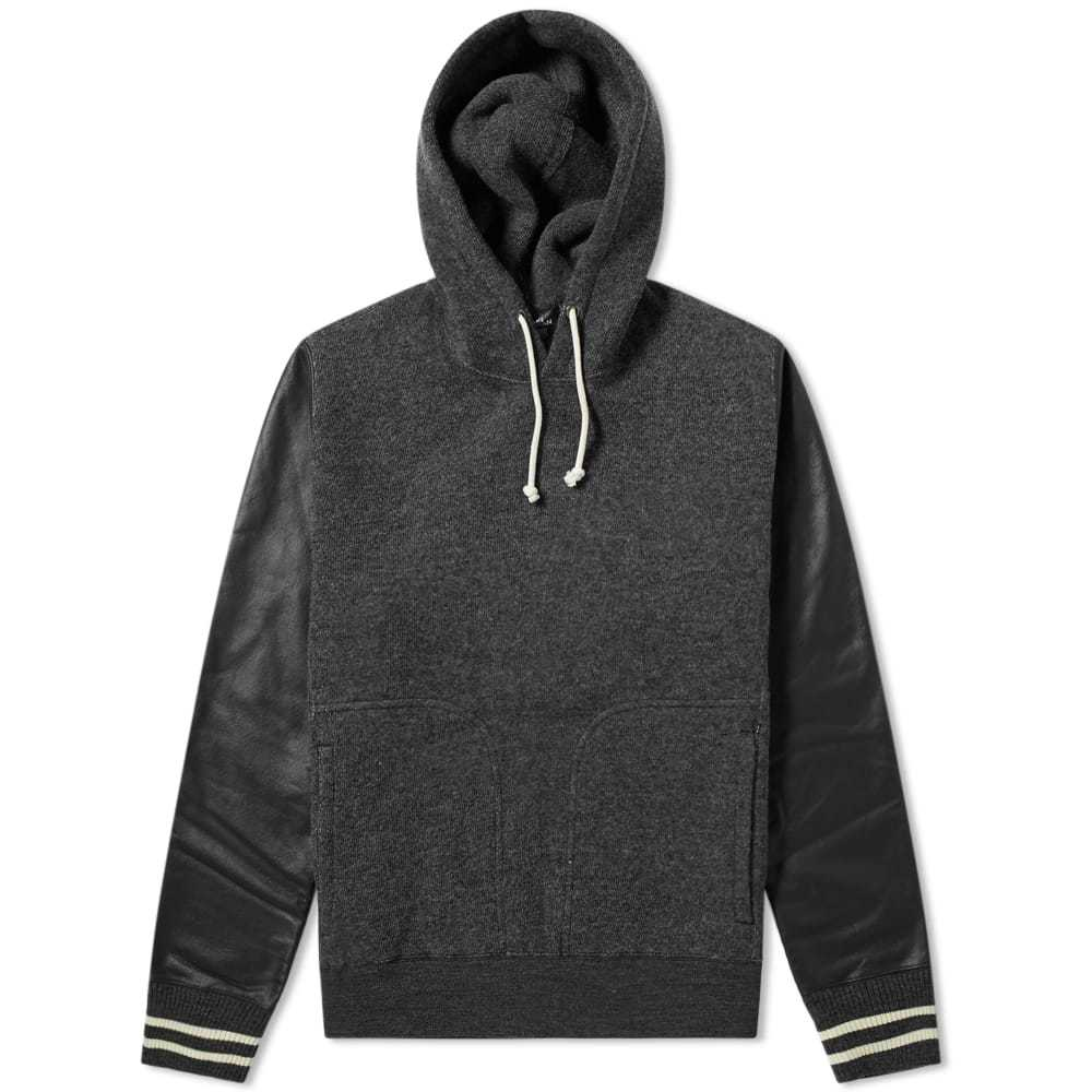 Photo: Junya Watanabe MAN Varsity Hoody Grey & Black