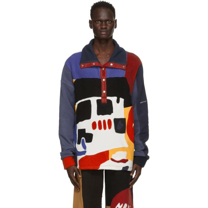 Photo: Bethany Williams Multicolor Recycled Fleece Sweatshirt