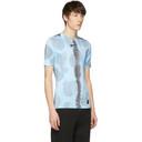 1017 Alyx 9SM Blue Nike Edition Camouflage Logo Sponge T-Shirt
