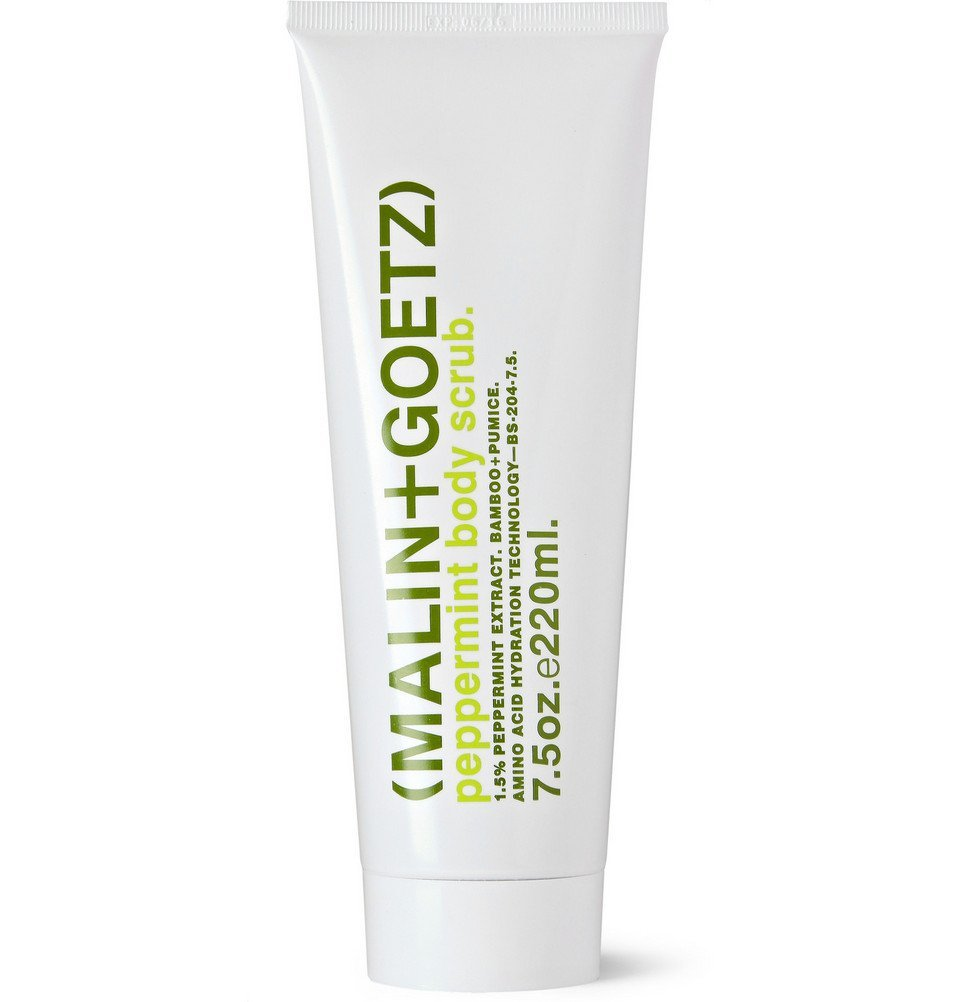 Photo: Malin Goetz - Peppermint Body Scrub, 220ml - Men - White