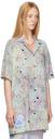 MCQ Green Light Speckle Classic Shirt Dress