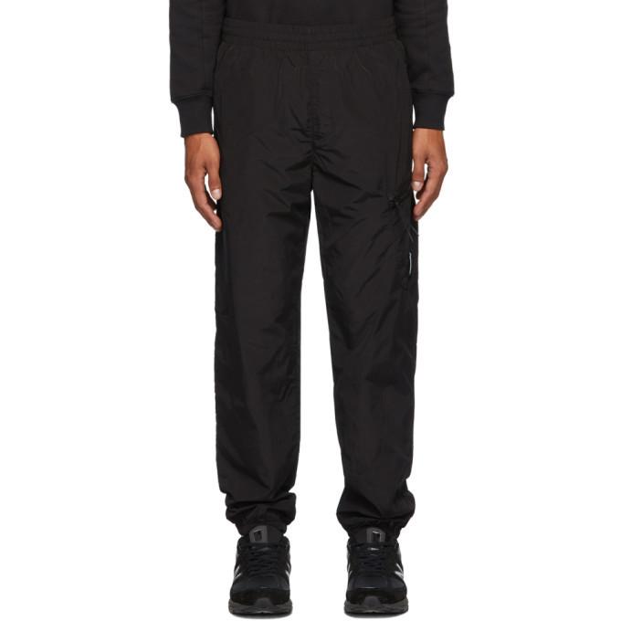 Photo: C.P. Company Black Nylon Track Pants