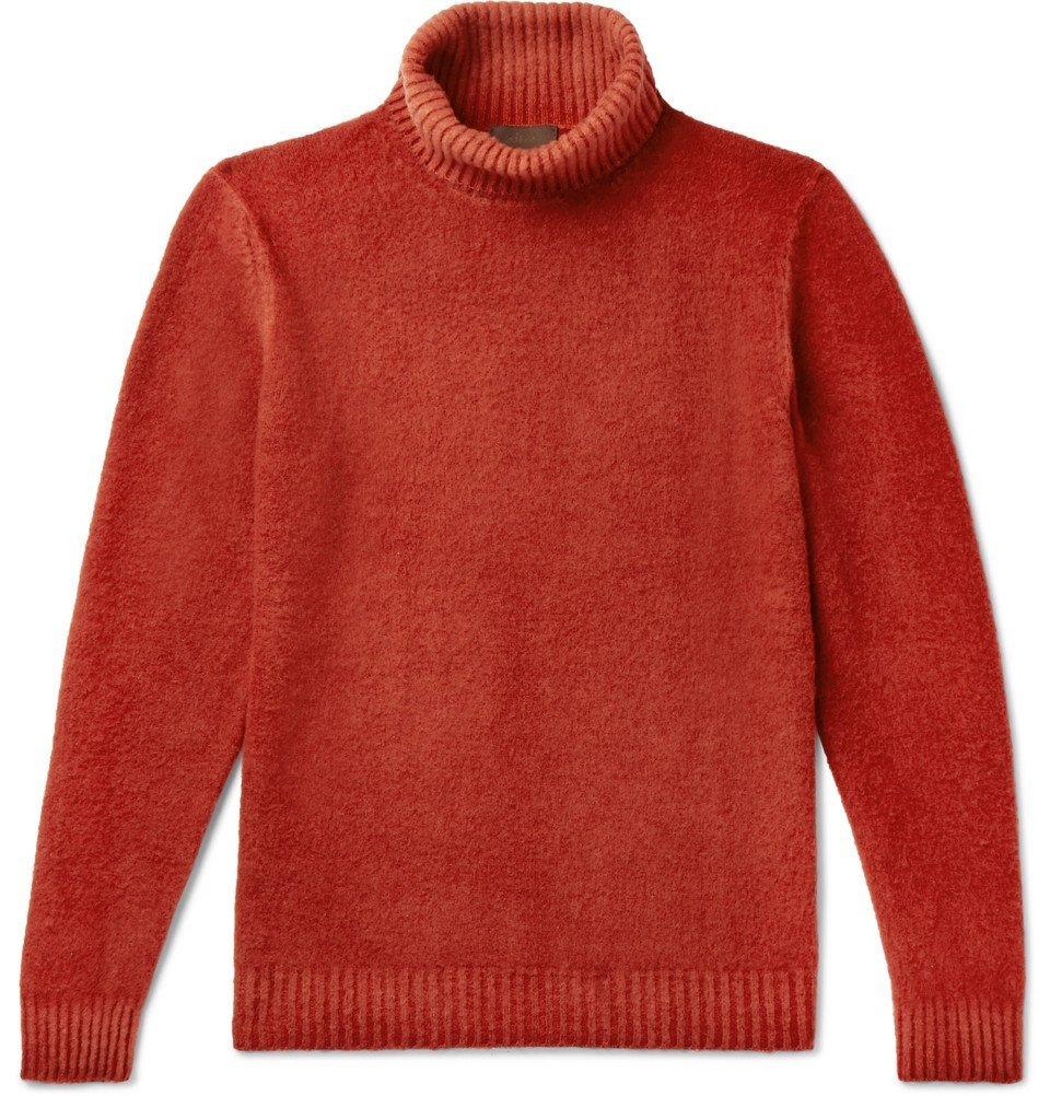 Photo: Altea - Wool Rollneck Sweater - Red
