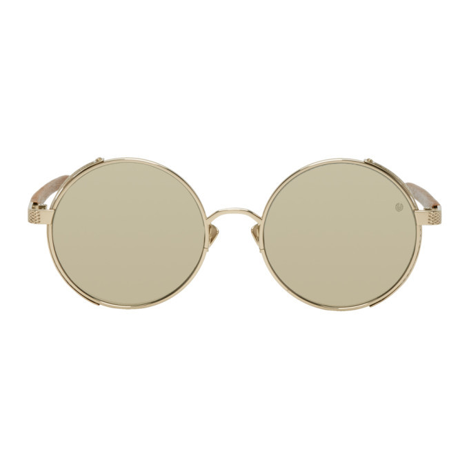 Photo: Belstaff Gold Trophy Sunglasses