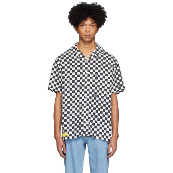 Photo: Axel Arigato Black and White Grid Shirt