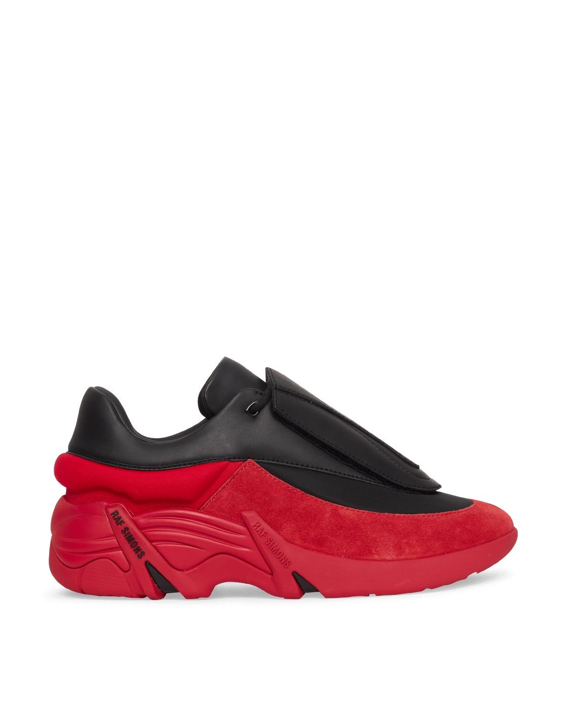 Photo: Raf Simons Runner Antei Sneakers Black/Red