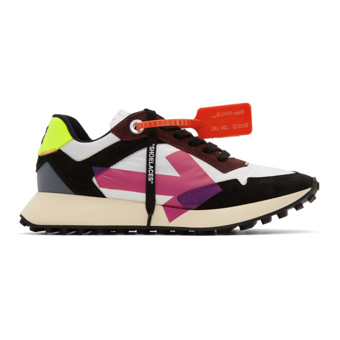 Photo: Off-White Multicolor Arrows Sneakers