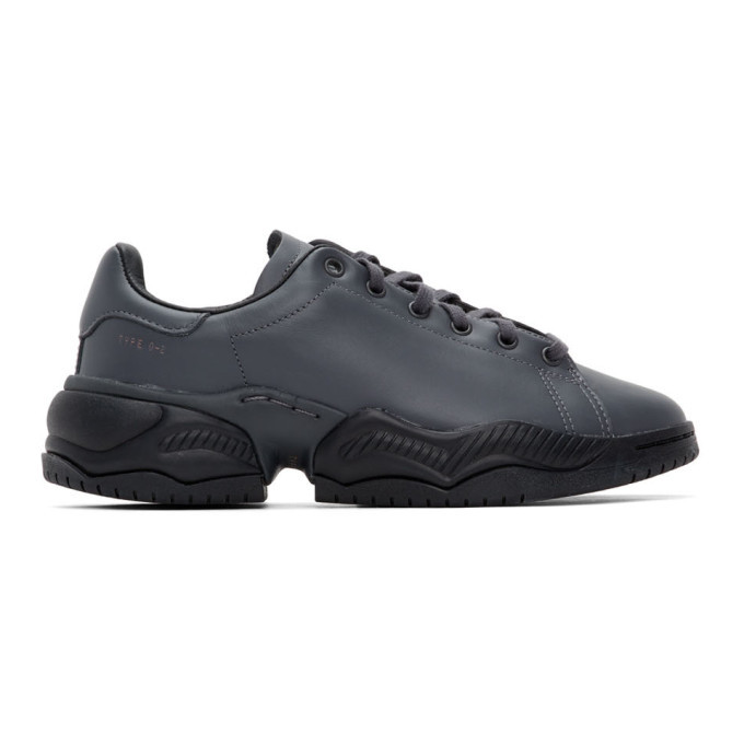 Photo: OAMC Grey adidas Originals Edition Type O-2 Sneakers