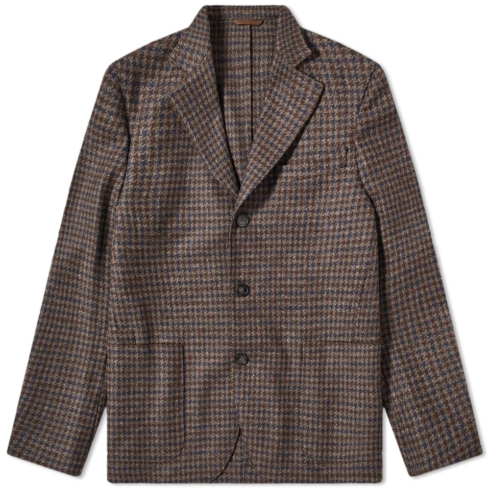 Officine Generale Shetland Wool Armie Jacket