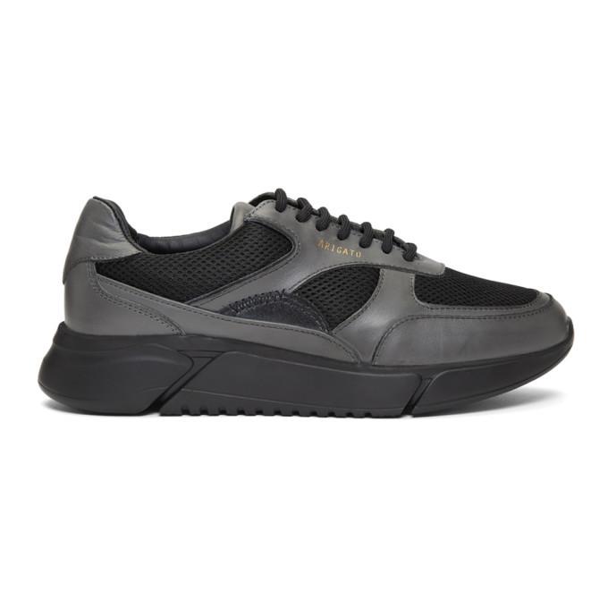 Photo: Axel Arigato Black and Grey Genesis Sneakers