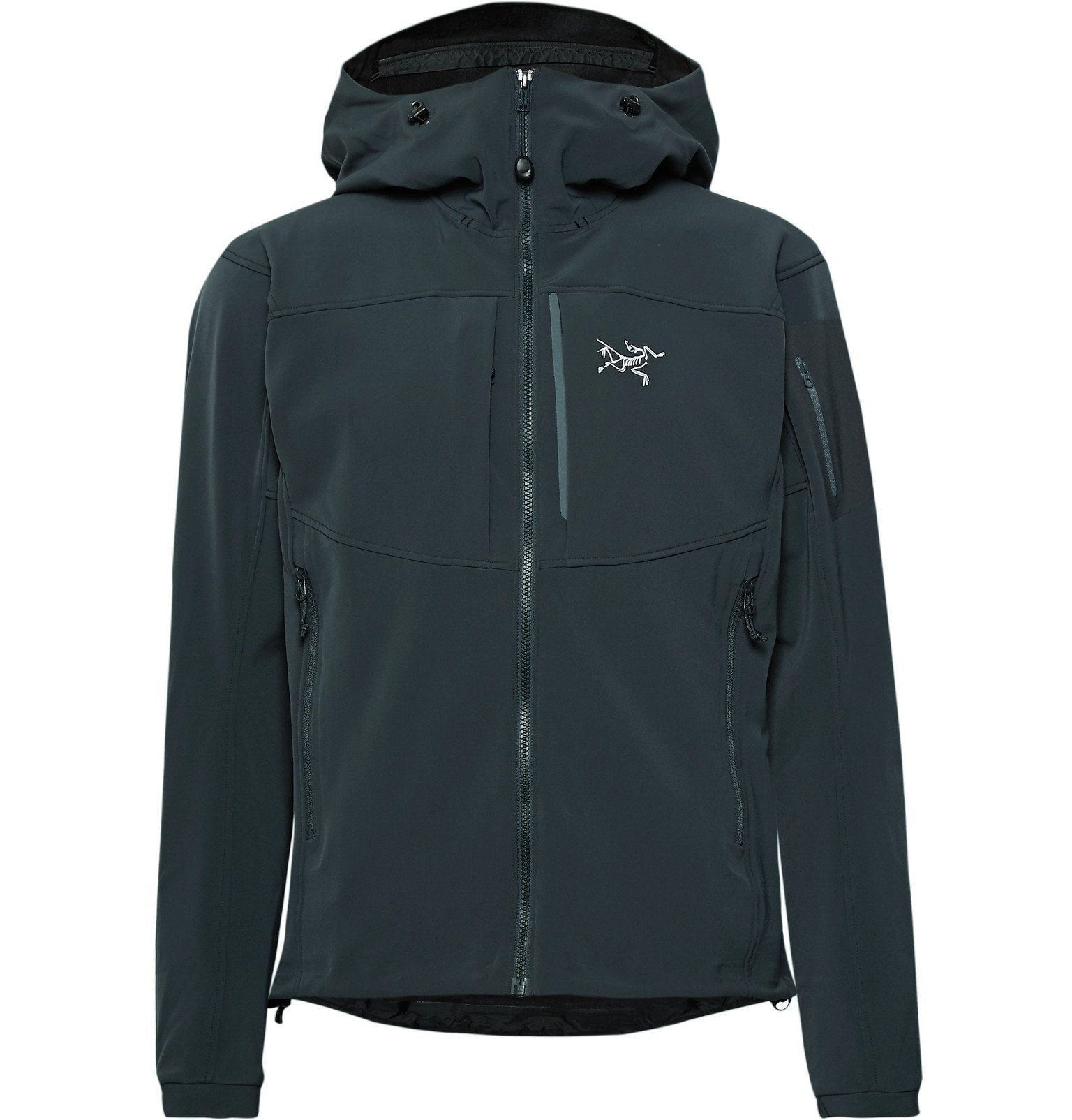 Photo: Arc'teryx - Gamma MX Fortius 2.0 Hooded Jacket - Blue