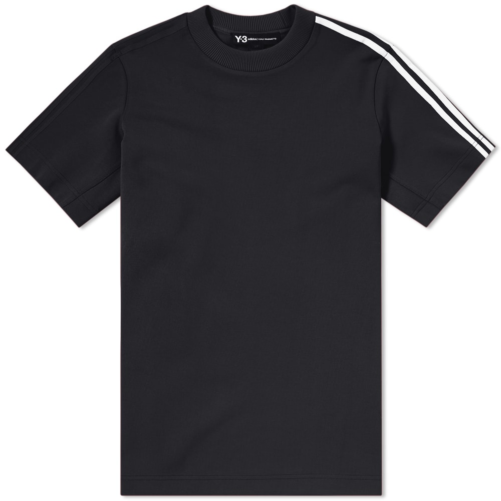 Y-3 Three Stripe Tee