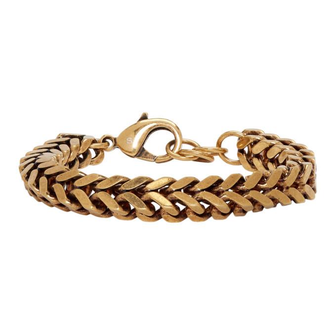 Photo: Balenciaga Gold Chain Set Bracelet