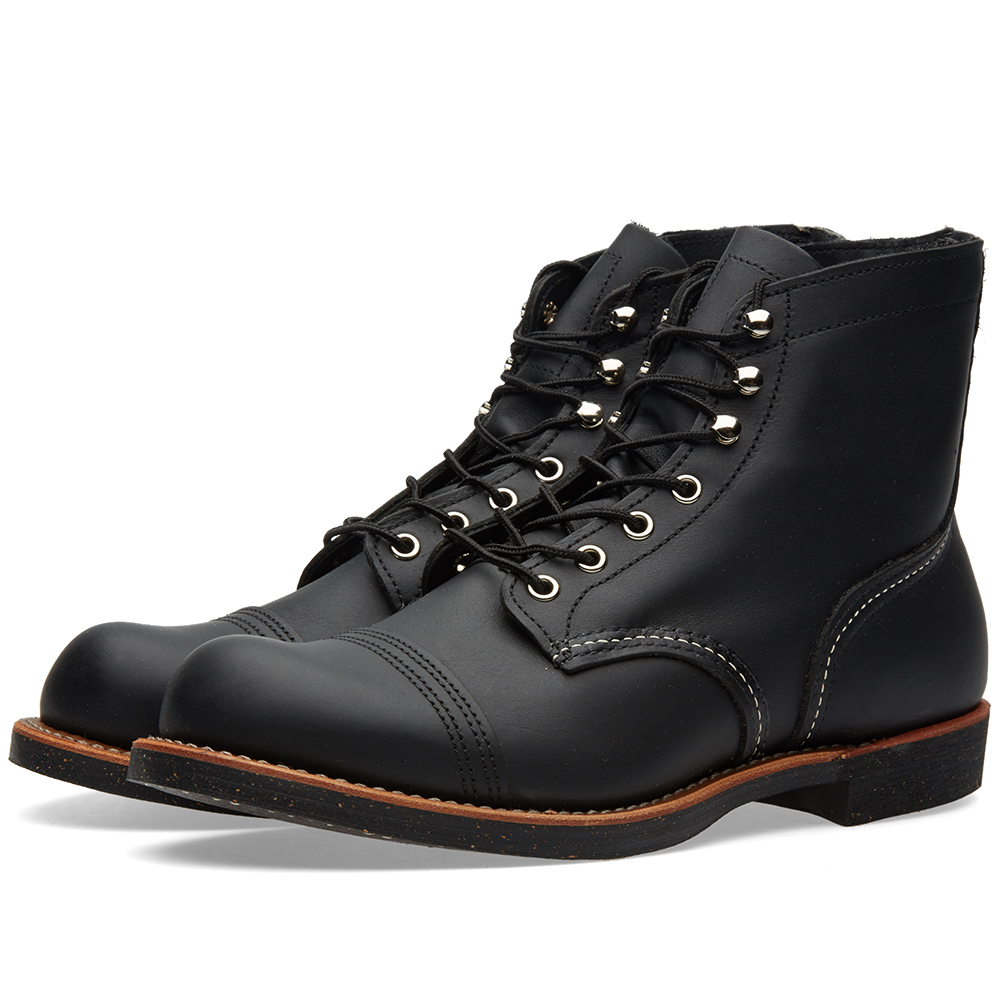 "Photo: Red Wing 8114 Heritage 6"" Iron Ranger Boot Black"