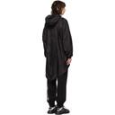 MCQ Black Nylon Lightweight Coat