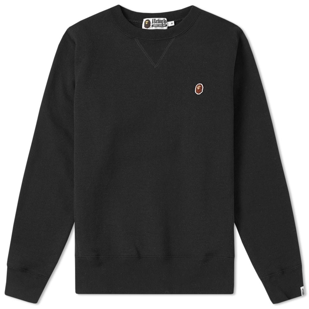 Photo: A Bathing Ape Heavyweight Crew Sweat
