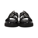 3.1 Phillip Lim Black Alix Flatform Sandals
