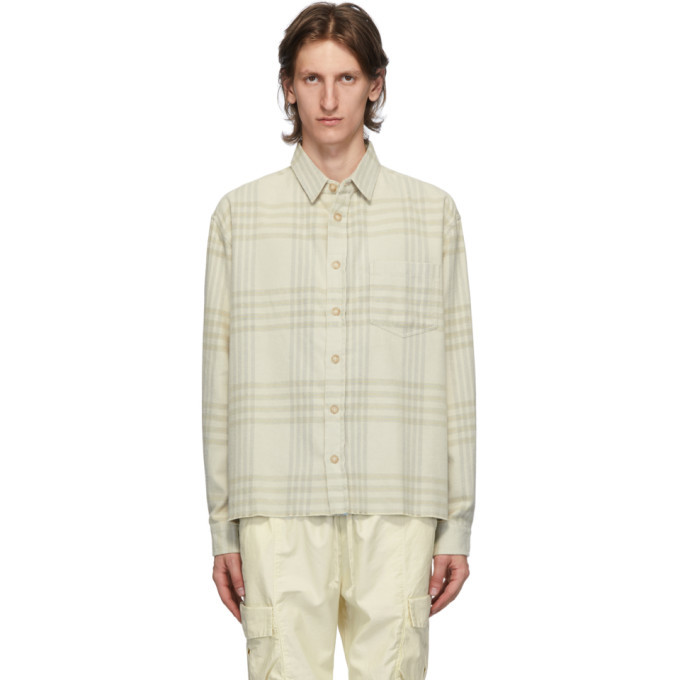 Photo: John Elliott Beige Oversized Hemi Shirt