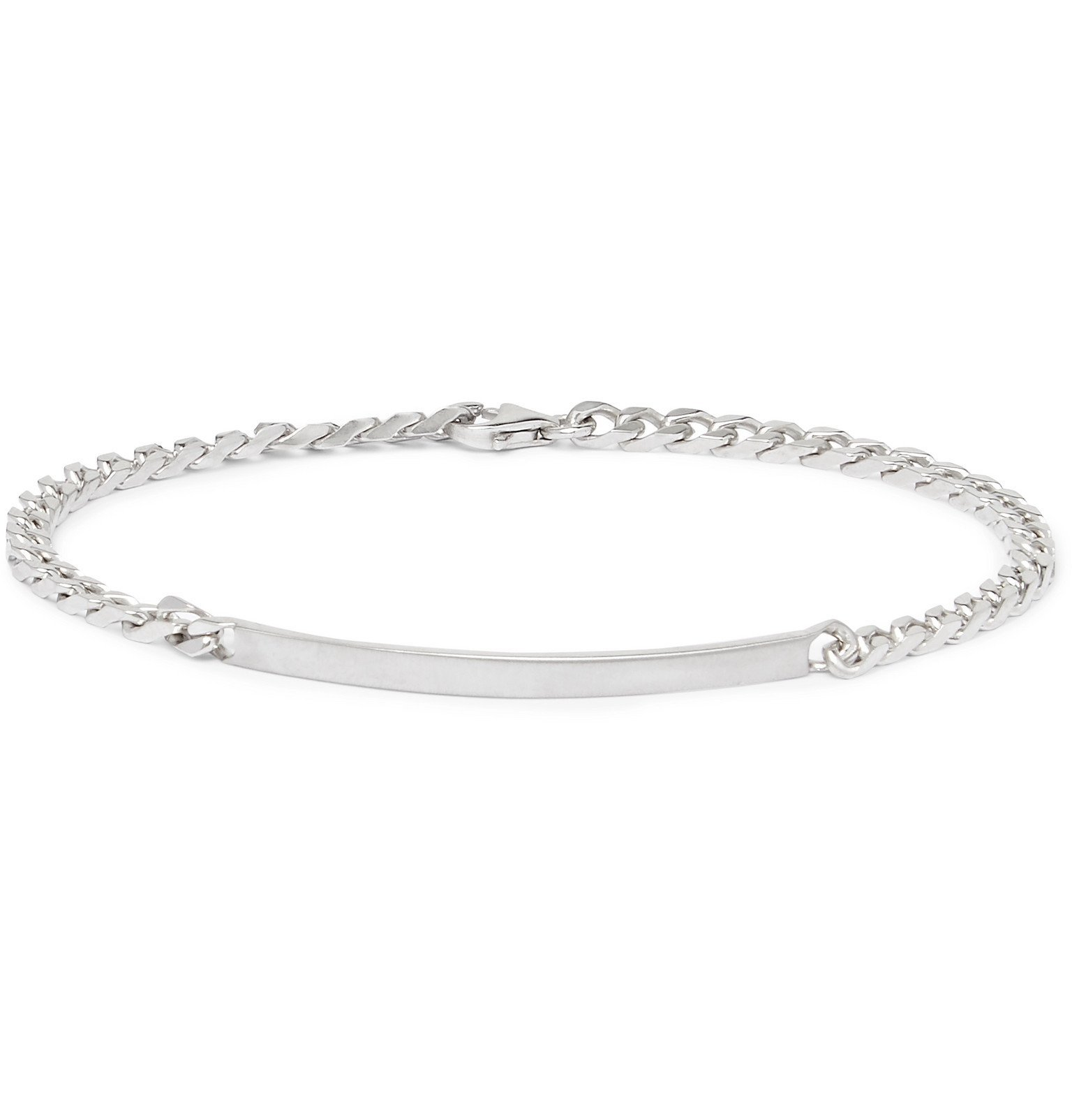 Photo: Miansai - Sterling Silver Bracelet - Silver