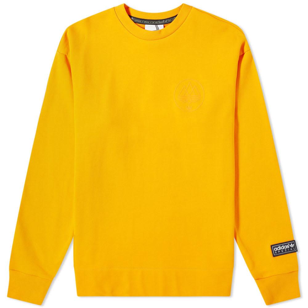 Photo: Adidas SPZL Sunnyhurt Crew Sweat Bright Orange