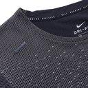 Nike Running - Pinnacle Run Division Panelled Dri-FIT T-Shirt - Gray