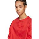 Raf Simons Red Convertible Button Shirt