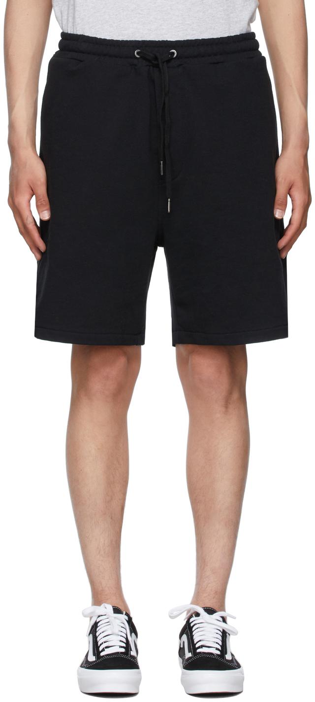 Photo: Ksubi Black 4 x 4 Trak Shorts