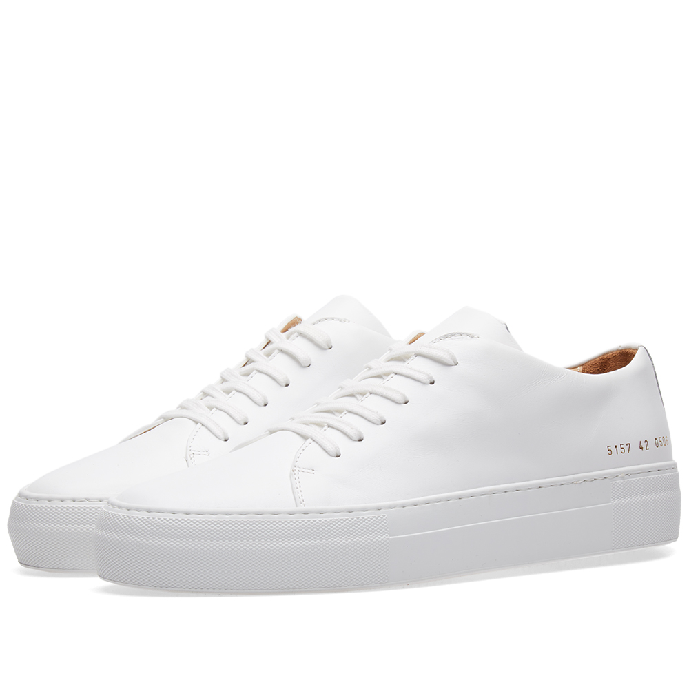 Photo: Common Projects Court Low White