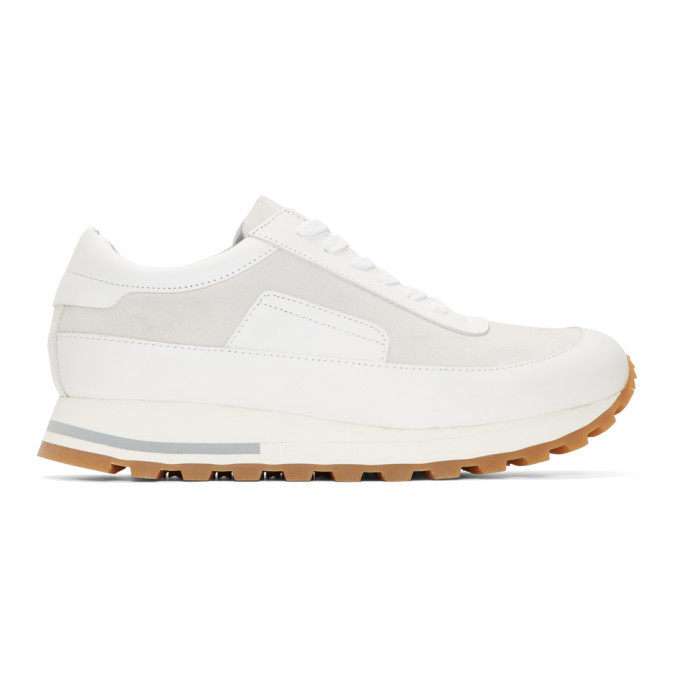 Photo: Tiger of Sweden Off-White Rollin Sneakers