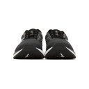 Asics Black and White Gel-Excite 7 4E Sneakers