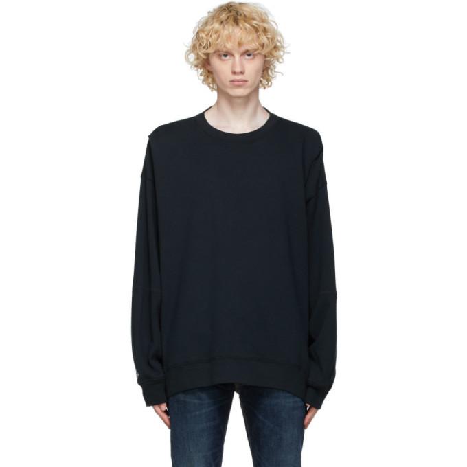 Photo: Converse Black Shapes Bubble Sweatshirt