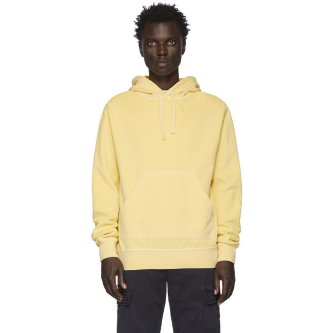 Photo: Officine Generale Yellow Oliver Hoodie