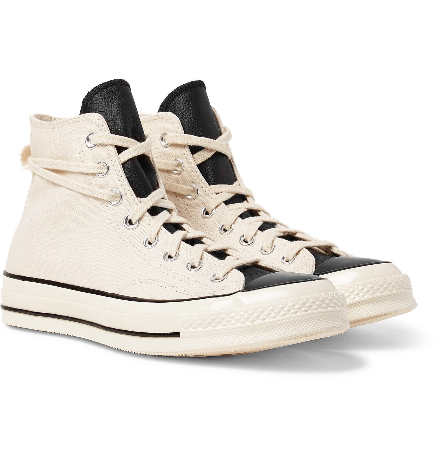 Photo: Converse - Fear of God 1970s Chuck Taylor All Star Canvas High-Top Sneakers - Neutrals