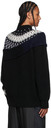 Sacai Black Knit Wool Crewneck Sweater