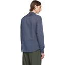 Giorgio Armani Blue Mini Stripe Shirt