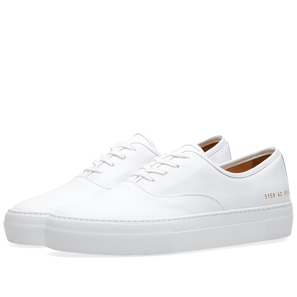 Common Projects Tournament Four Hole Leather