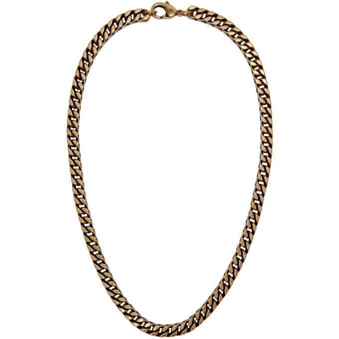 Photo: Balenciaga Gold Chain Necklace