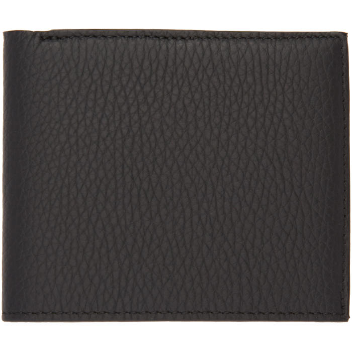 Photo: Éditions M.R  Black Leather Wallet