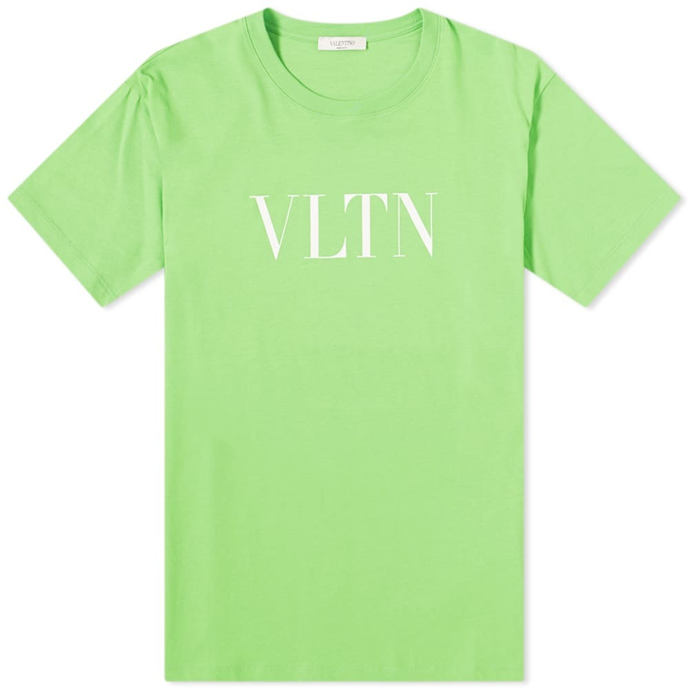Valentino Fluo VLTN Logo Tee