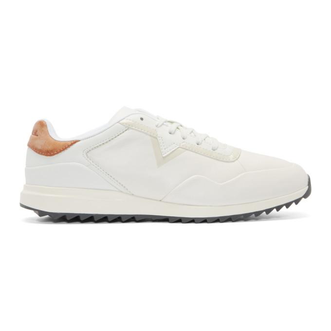 Photo: Diesel White S-Swifter Sneakers