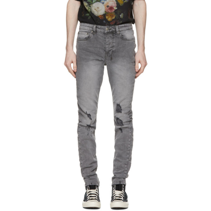 Photo: Ksubi Grey Distressed Chitch Jeans