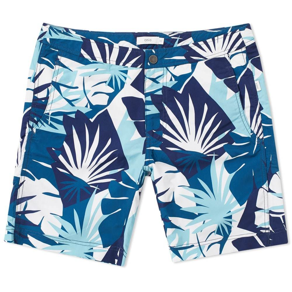 Photo: Onia Calder 7.5 Cote d'Azur Swim Short Blue