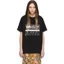 Martine Rose Black Wobbly T-Shirt