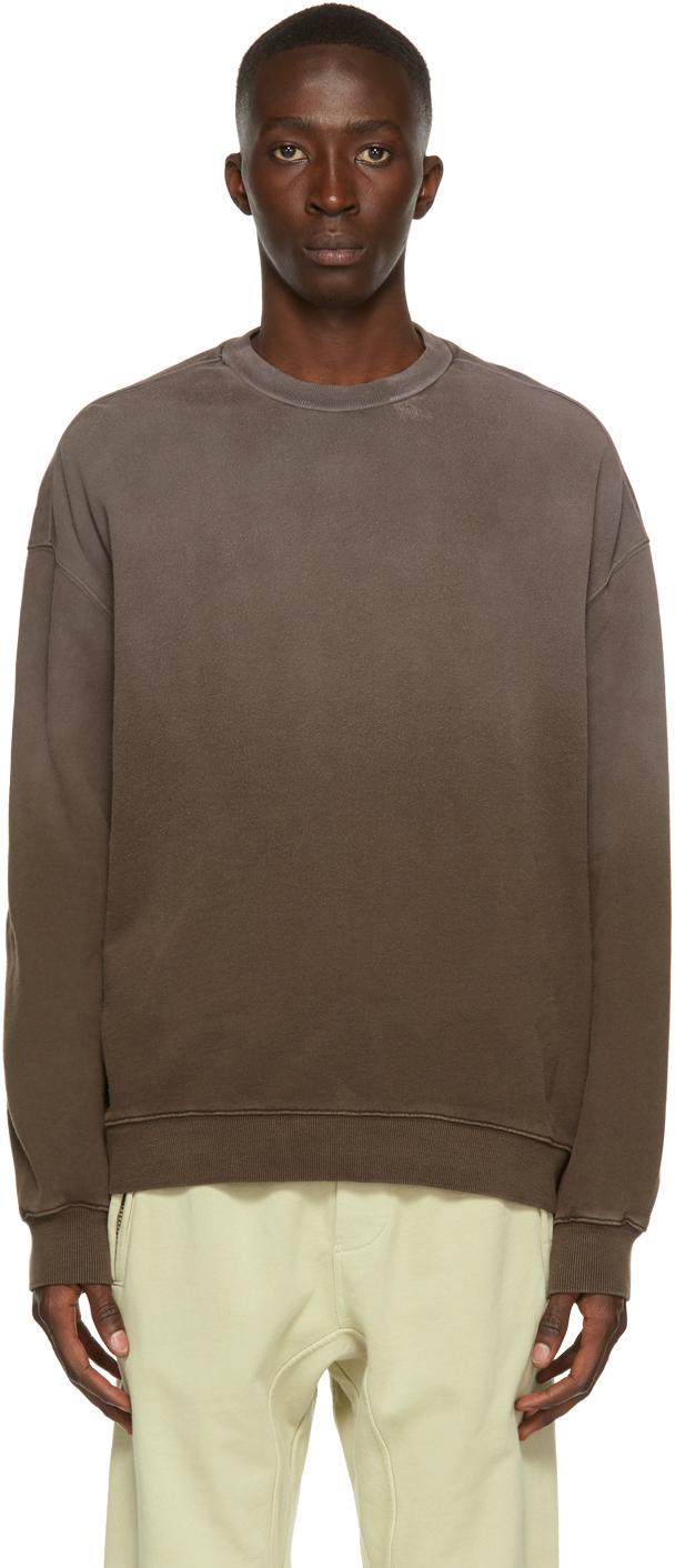 Photo: Ksubi Brown 4 x 4 Biggie Kross Sweatshirt